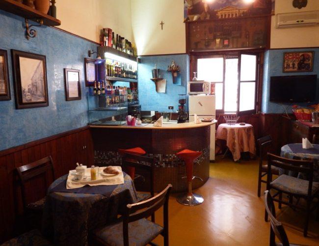 bar sala colazione hotel touring messina