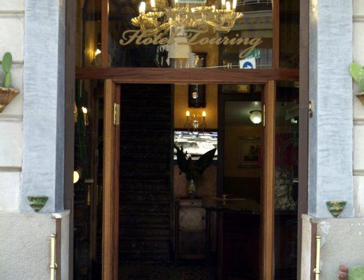 ingresso hotel touring messina