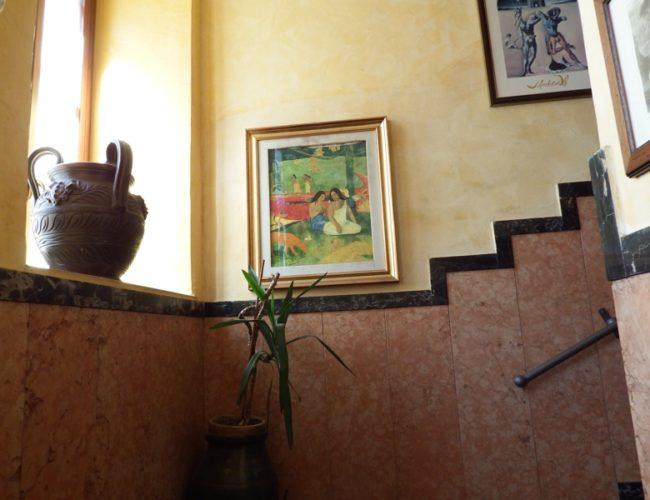 quadro gauguin giocosita hotel touring messina