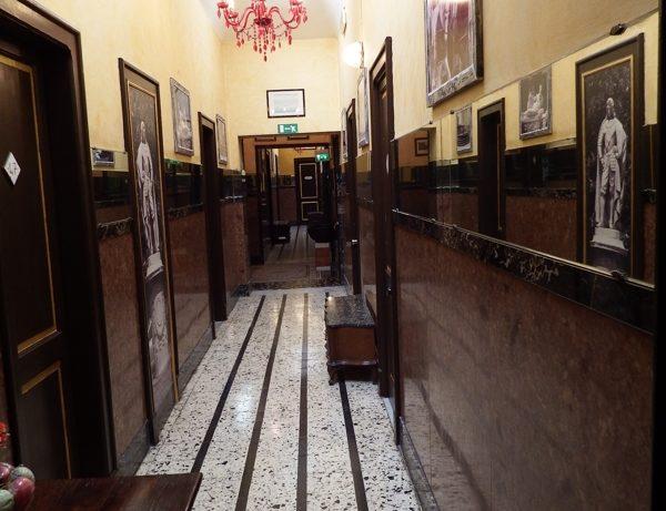 interni corridoio hotel touring messina